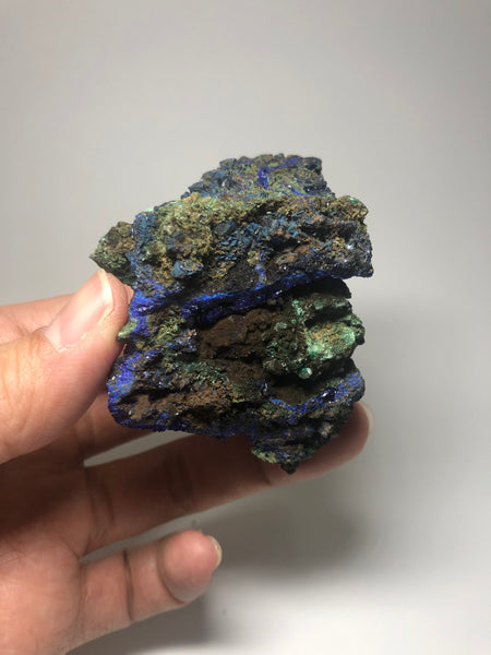 Azurite Malachite Crystal Raw Minerals 131g