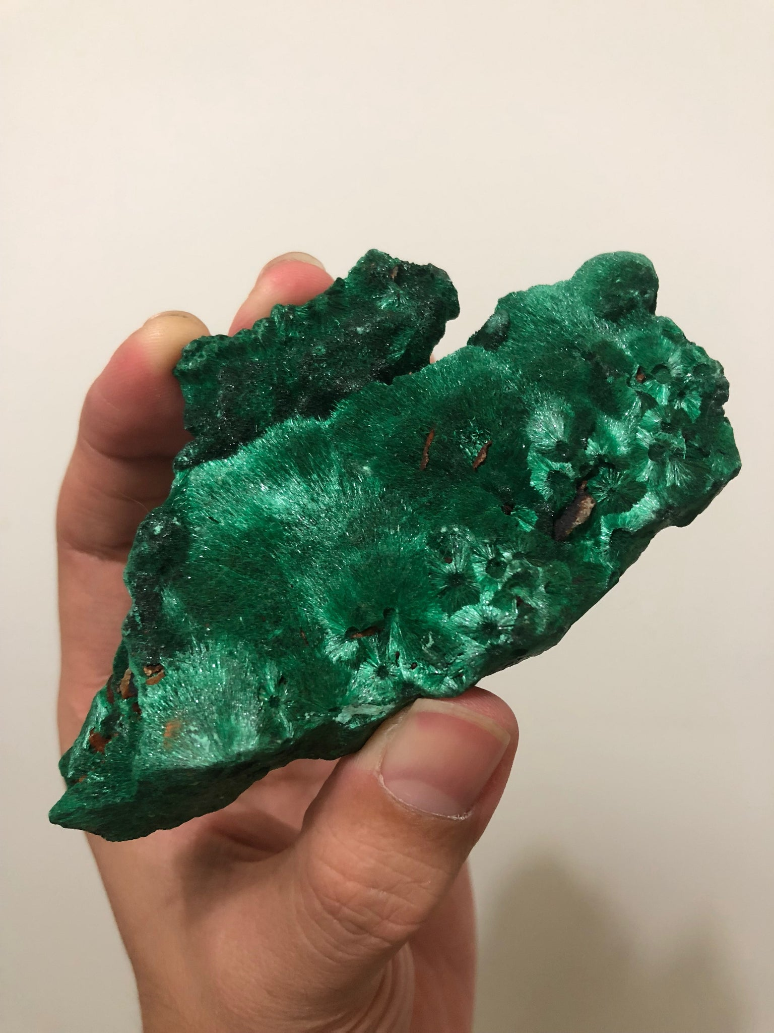Malachite Crystal Raw Mineral 131g