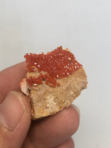 Vanadinite Raw Crystals 13g