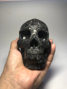 Mystic Merlinite Crystal Skull 1480g