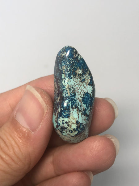 Shattuckite with Chrysocolla Tumbled Stones 14g