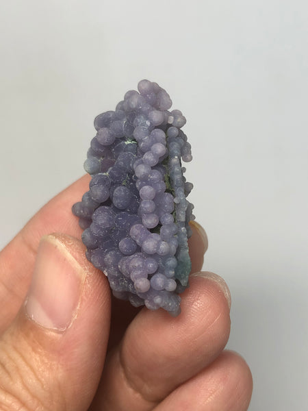 Grape Agate Raw Crystals 14g