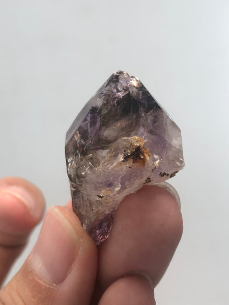 Amethyst Quartz Double Terminated Raw Crystals 16g