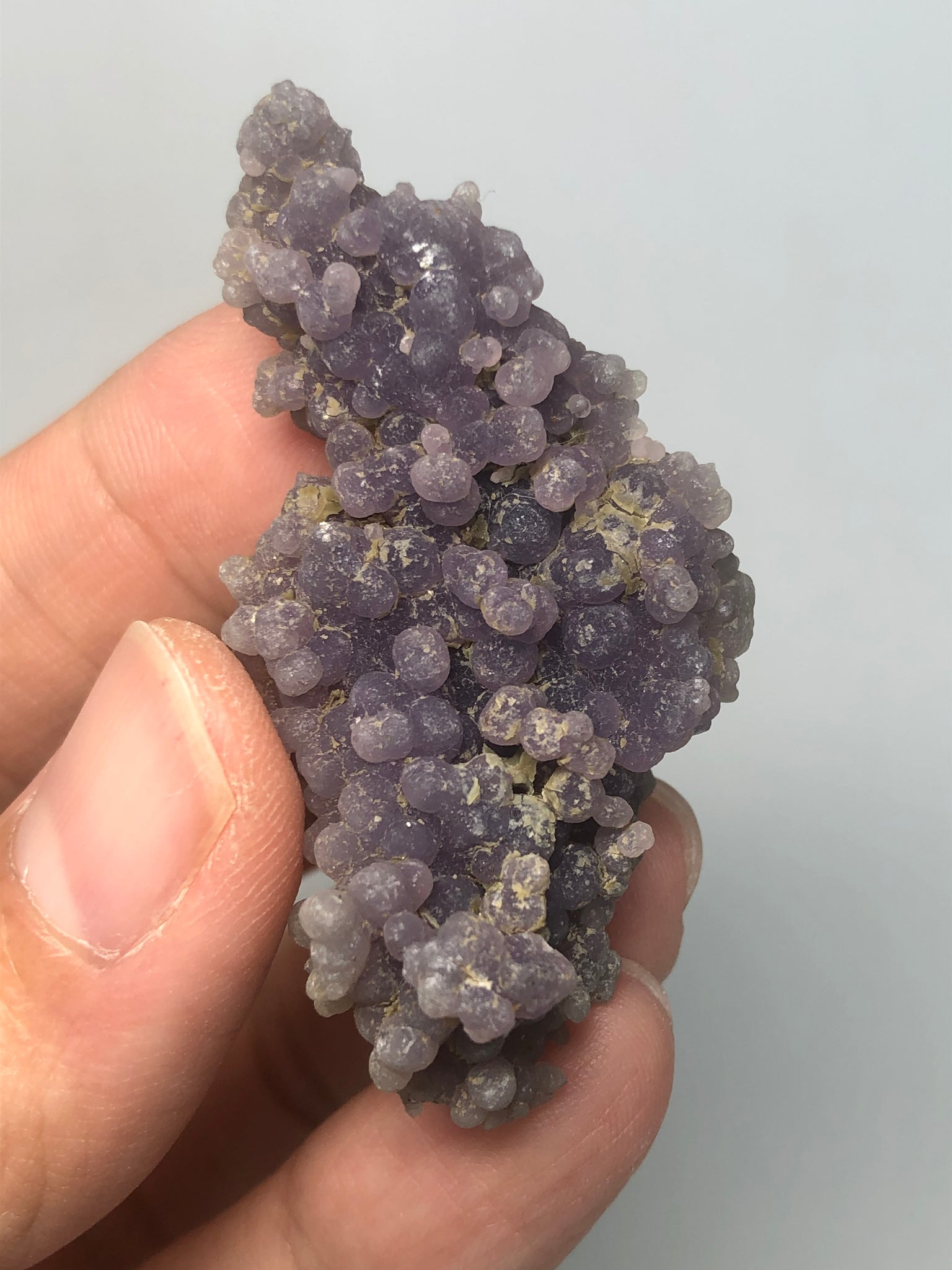 Grape Agate Raw Crystals 16g