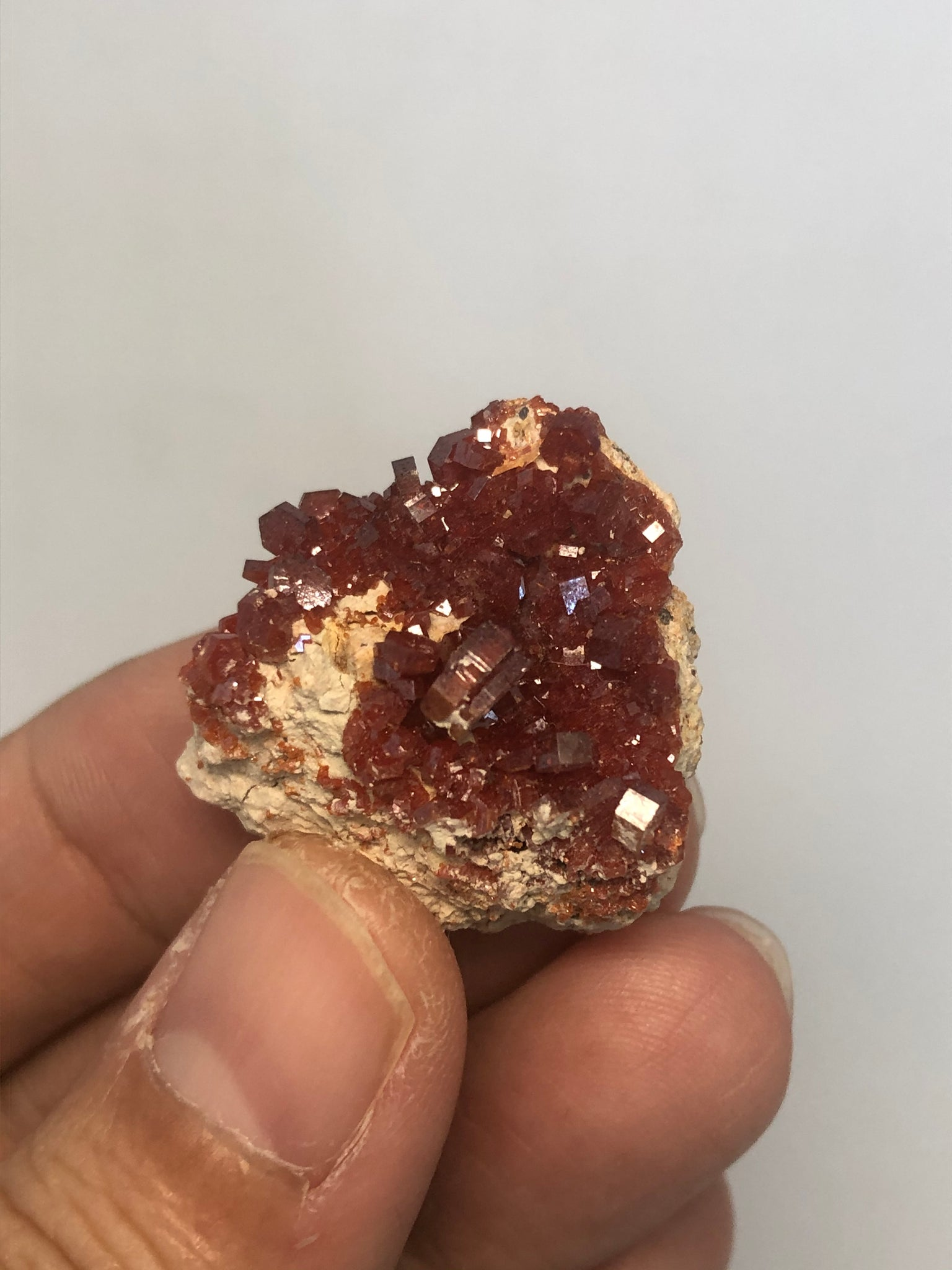 Vanadinite Raw Crystals 16g