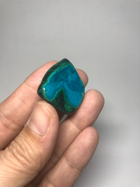 Chrysocolla Malachite Raw Crystals 18g