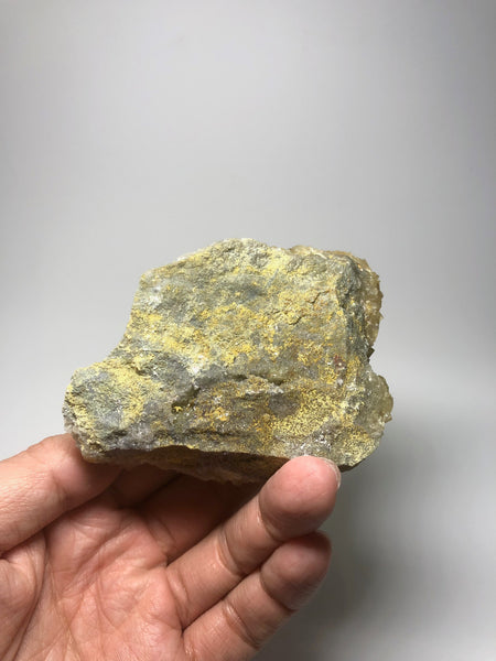Yellow Fluorite with Chalcopyrite from Spain 197g