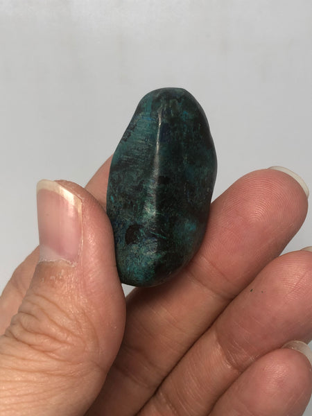 Chrysocolla with Shattuckite Tumbled Stones 19g
