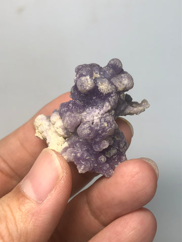 Grape Agate Raw Crystals 20g