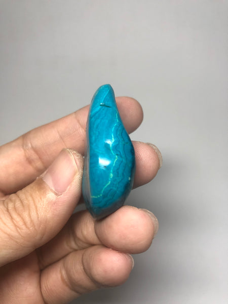 Chrysocolla Malachite Raw Crystals 21g