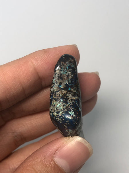 Shattuckite with Chrysocolla Tumbled Stones 22g