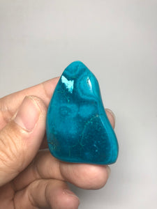 Chrysocolla Malachite Raw Crystals 23g