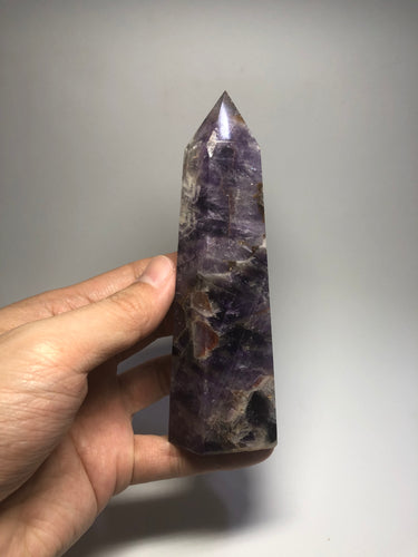 Chevron Amethyst Crystal Point 288g