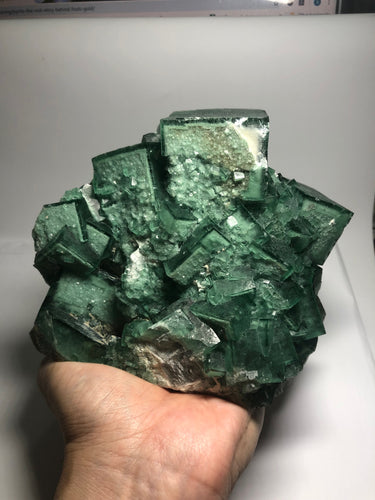 Green Fluorite Raw Specimen From Madagascar 2900g