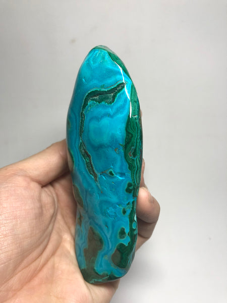 Chrysocolla Malachite Raw Crystals 295g
