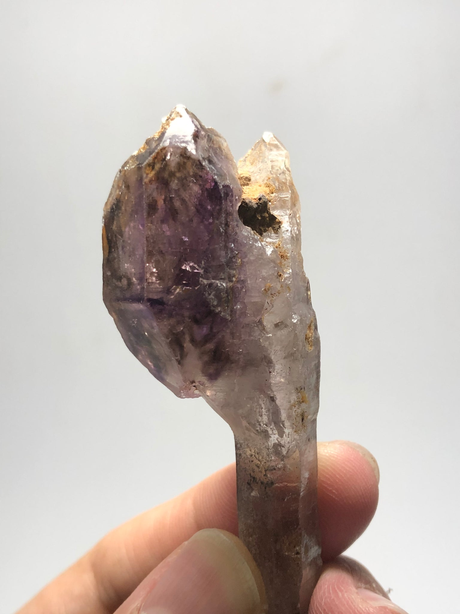 Smoky Amethyst Scepter Raw Crystals 30g