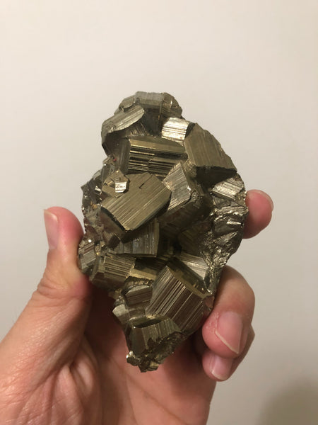 Pyrite Cluster Raw Mineral 322g