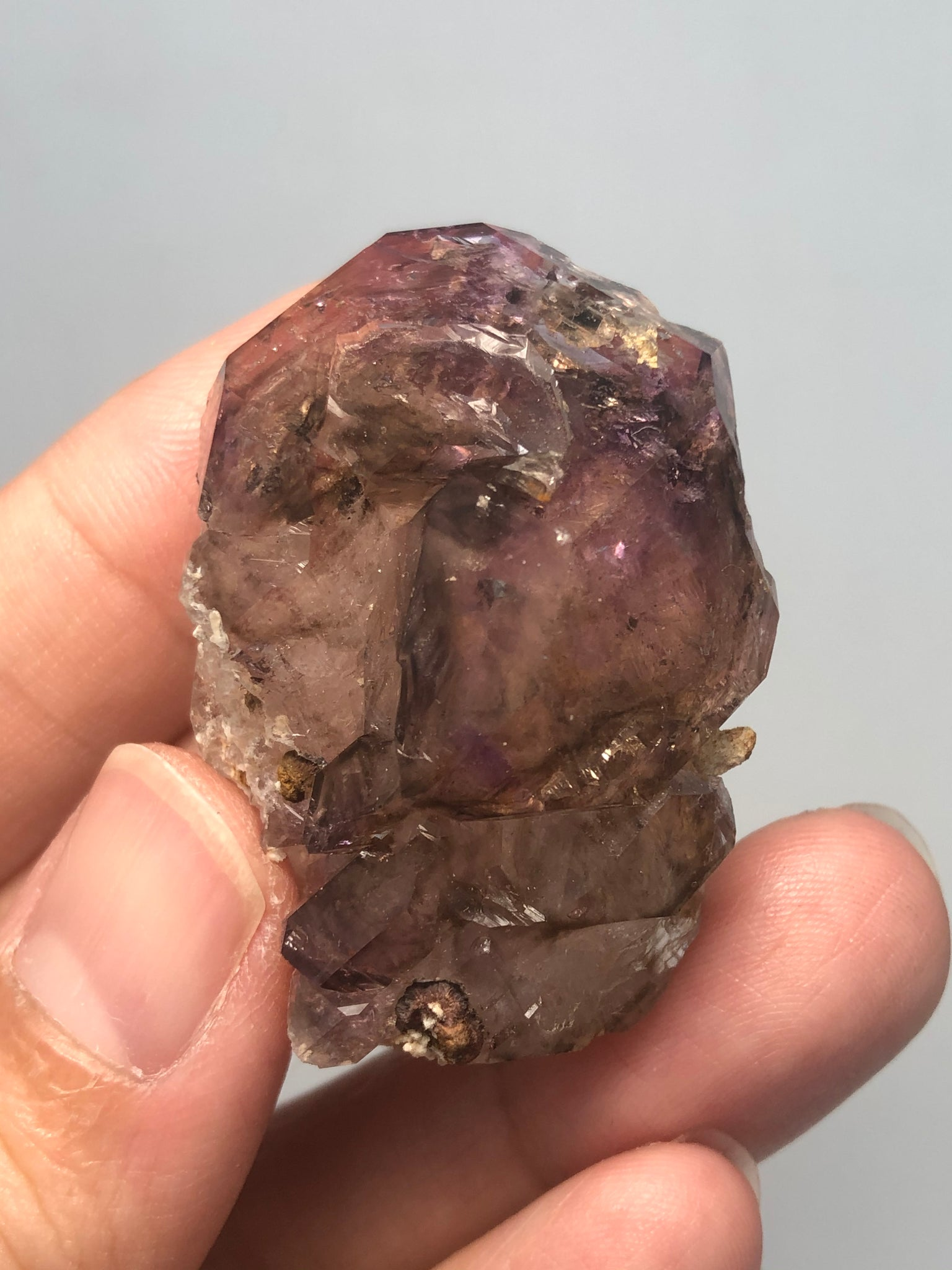 Amethyst Quartz Raw Crystals 33g