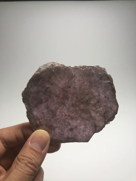 Lepidolite Disc Raw Crystals 33g