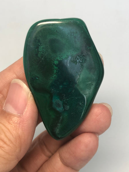 Malachite Polished Raw Crystals 41g