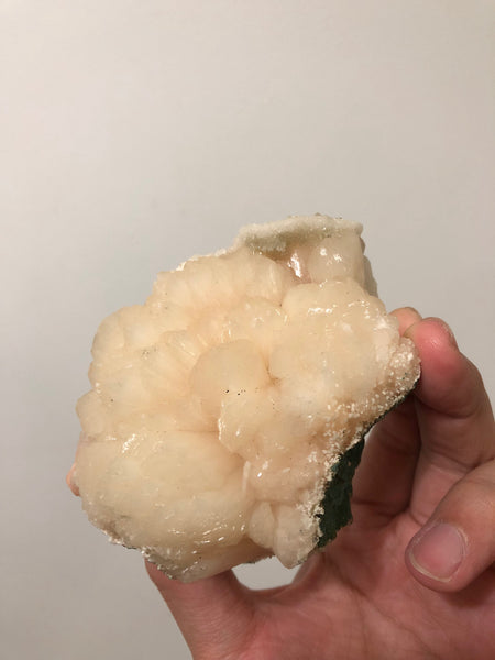 Cream Stilbite Crystal 432g