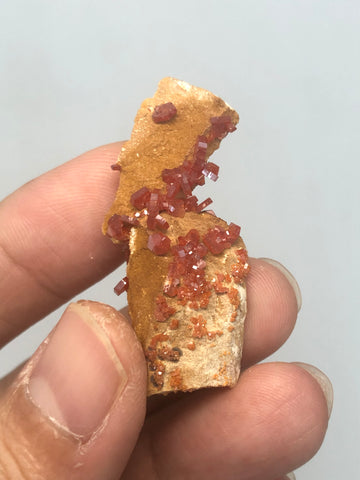 Vanadinite Raw Crystals 4g