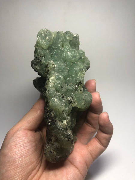 Prehnite with Epidote Raw Crystals 542g