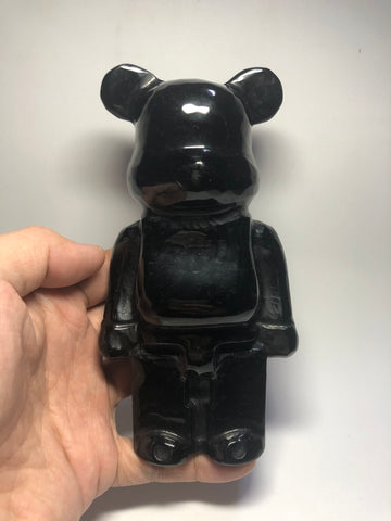 Bearbrick Obsidian Raw Crystals 580g