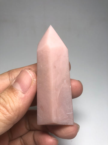 Pink Opal Crystals Point 58g