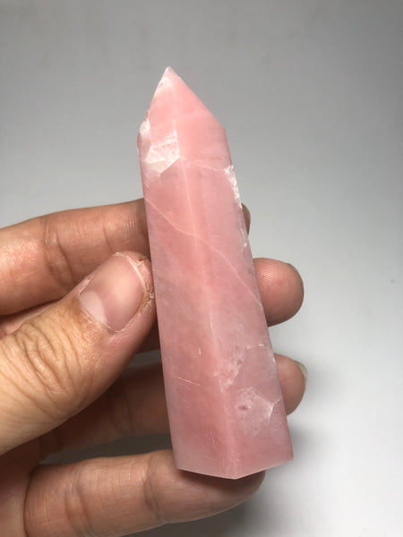 Pink Opal Crystals Point 59g