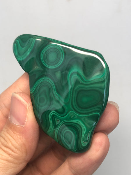 Malachite Polished Raw Crystals 60g