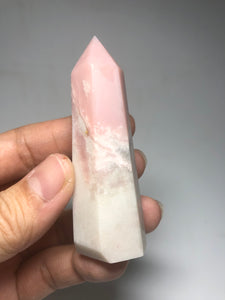 Pink Opal Crystals Point 60g