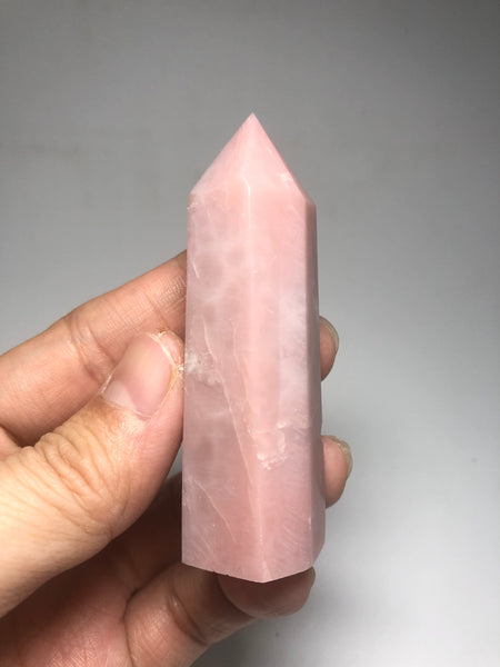 Pink Opal Crystals Point 62g