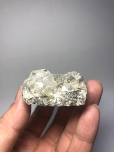 Phenakite on Mica Raw Crystals 63g