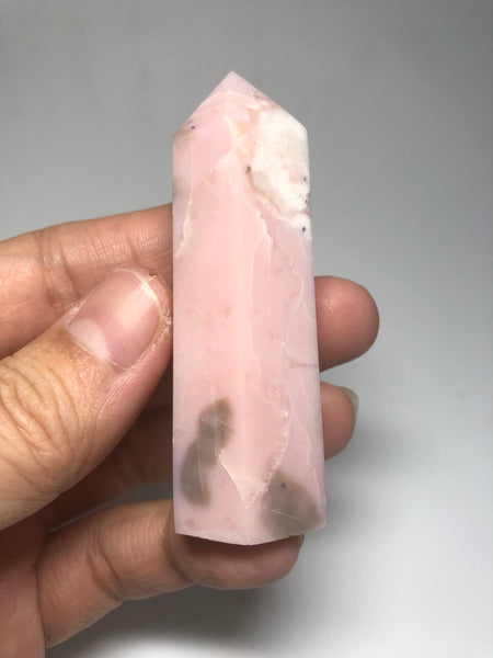 Pink Opal Crystals Point 64g