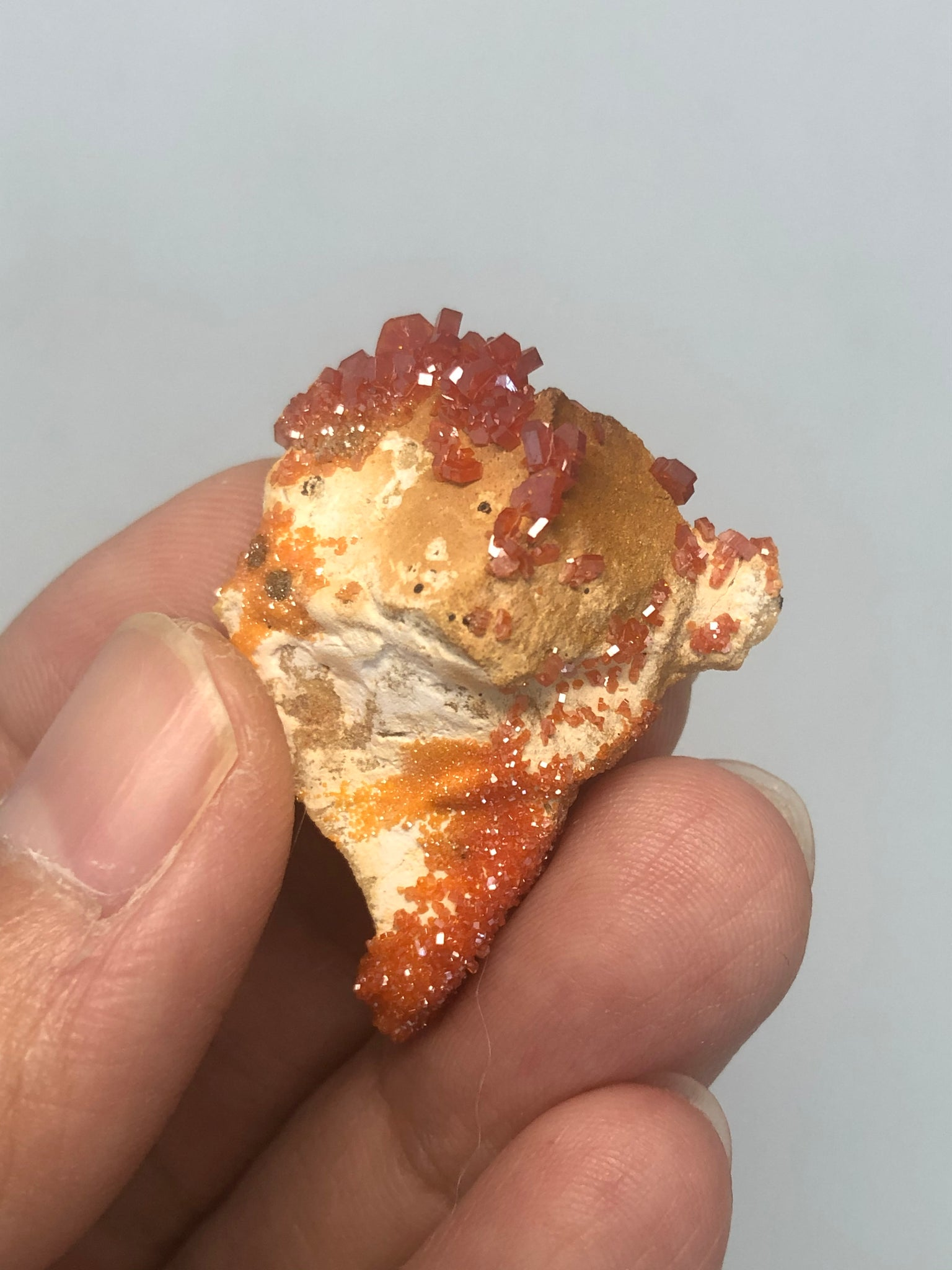 Vanadinite Raw Crystals 6g