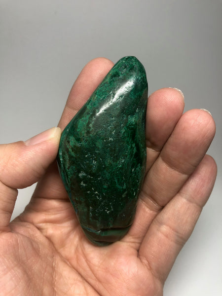 Chrysocolla Malachite Crystal Raw Mineral 79g