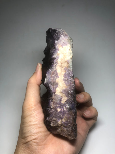 Purple Cubic Fluorite Cluster Raw Crystals 819g