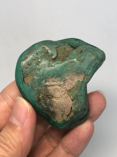 Malachite Polished Raw Crystals 83g