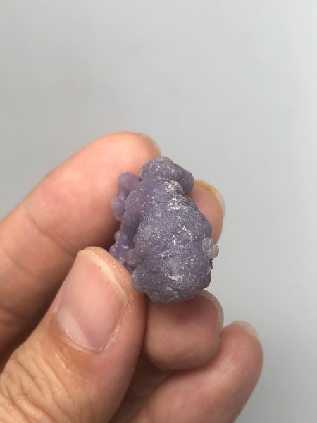 Grape Agate Raw Crystals 8g
