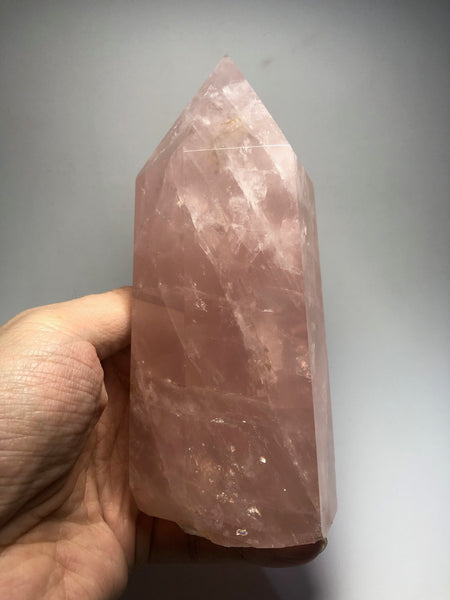 Rose Quartz Crystal Point 904g