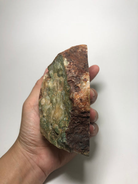 Moss in Agate Raw Crystals 979g