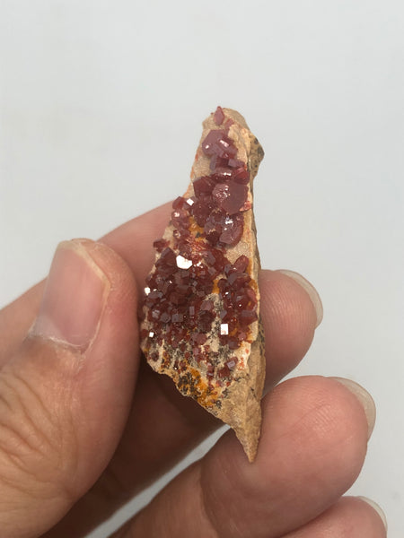 Vanadinite Raw Crystals 9g