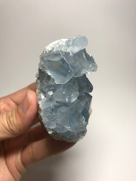 Blue Celestite Clusters Raw Crystals