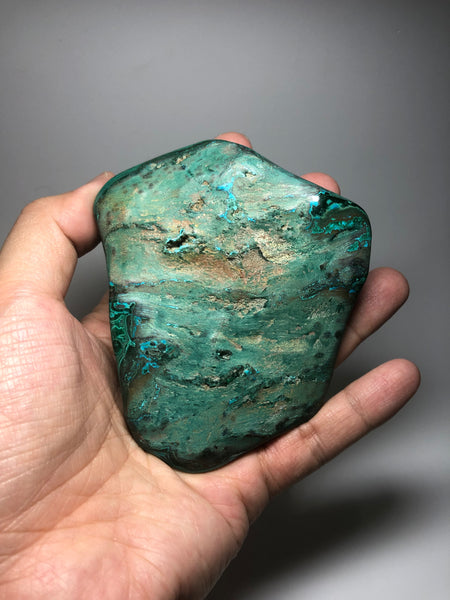 Chrysocolla Malachite Crystal Raw Mineral 213g