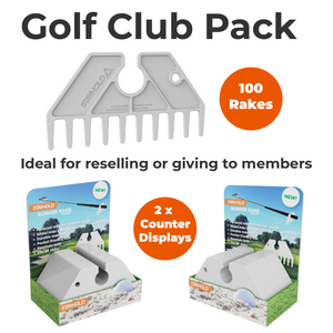 GOLF POCKET BUNKER RAKE