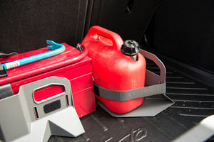 Stayhold Sidekick Shopping Holder Pack - for rubber liners in trunk holding gas can with strap
