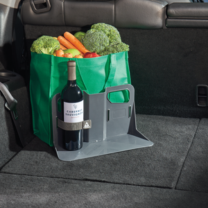 Stayhold Metro Medium x 2 shopping holder holding shopping in trunk