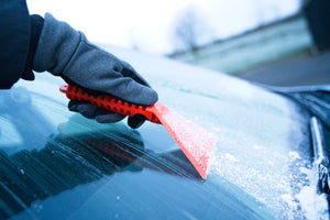 Stayhold ICE SCRAPER+SQUEEGEE clearing windscreen