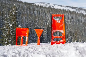Stayhold Bundle Pack - All 3 STAYSAFE™ Snow Tools in snow